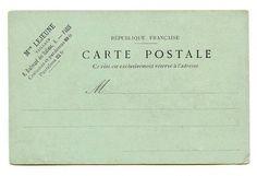 mint postcard