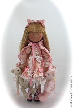 Человечки ручной работы. Ярмарка Мастеров - ручная работа текстильная кукла EVA. Handmade.
