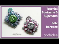 ▶ Tutorial Soutache & SuperDuo | Sole Barocco | In collaborazione con Arte e Bijoux - YouTube