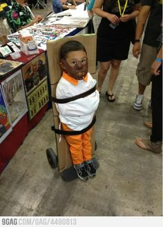 lol scary kid costume-love it!