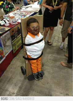 lol scary kid costume-love it!