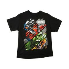 Shop for Boys Marvel Faces Tee in Black at Journeys Kidz. Shop today for the hottest brands in mens shoes and womens shoes at JourneysKidz.com.Black cotton tee featuring his favorite Marvel superheroes Captain America, Spider-man, The Incredible Hulk, and Wolverine!
