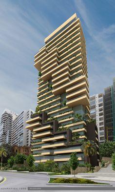"LEBANON, #UNDER C-Beirut: ""Ashrafieh Heights"" | 25F Res - SkyscraperCity"
