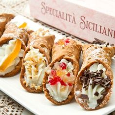 Desserts | Authentic Italian Cannoli Recipe | Recipe4Living Dads 3 Little Bratty Girls Favorites Right Here Just Like From The Bakery