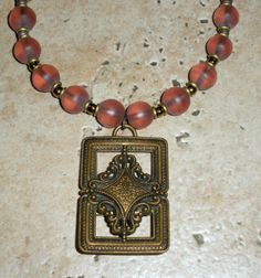 Vintage French brass belt buckle by d3tennis on Etsy, $40.00