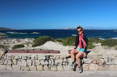 The travel addict doing what she loves in Sardinia. (A. Carman)