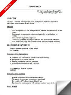 customer service resume examples objectives resume format if you are building a customer