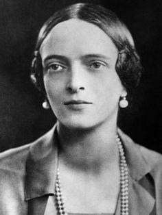 Russian Royalty. Princess Irina Alexandrovna of Russia. Niece of Tzar Nicholas II and wife of Prince Felix Yousupov, 1930s.