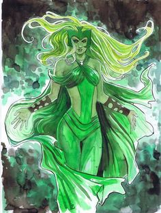 The Enchantress by Stephanie Hans