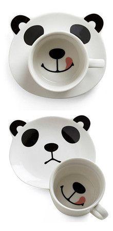 Pandas, OMG, awesome and totally cute Panda Love, Cute Panda, Happy Panda, Panda Party, Gadgets, Cute Cups, Cool Mugs, Kitsch, Cute Animals