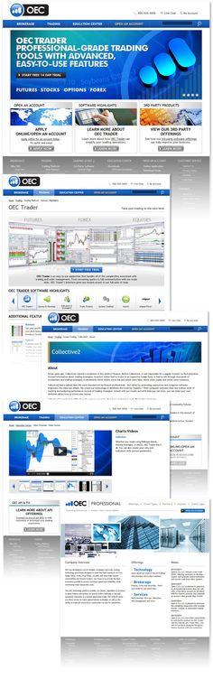 Forex website design by MissNasuta on DeviantArt