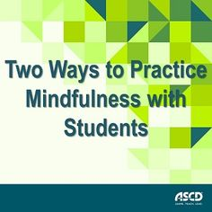 When integrated into our lives, mindfulness works like a magnetic pull, drawing our attention back to the present moment. Research shows that the ability to calmly focus on what's at hand has long-term benefits for burned-out educators and students. From the November issue of Education Update. Start developing these skills in your preschoolers!