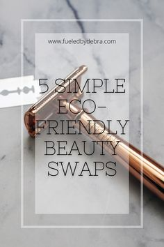 Being eco-conscious doesn't have to break the bank! Check out these super easy swaps to be more sustainable, low-waste, and environmentally friendly. No plastic! Bank Check, No Plastic, Super Easy, Eco Friendly, Simple, Beauty, Beauty Illustration