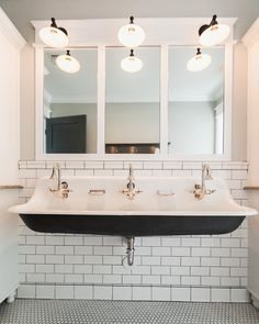 Planning Out A New Hall Bathroom Design And Thinking About Breaking Out The Triple Trough Sink