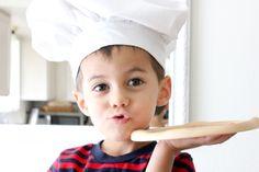 delia creates: Pizza Chef's Hat
