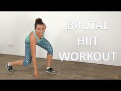 20 Minute Brutal HIIT Workout – Fat Loss Increasing Advanced Cardio Workout | FitnessType