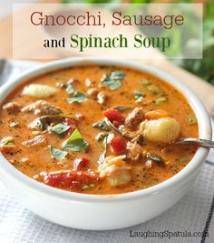 Easy 25 minute meal with a ton of flavor!  A soup lovers soup!