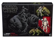 Hasbro's new Star Wars Black Series figures