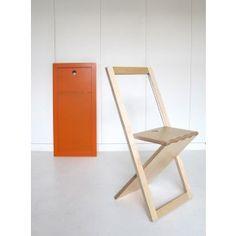 Chaise Pliante Design En Bois WoodMood