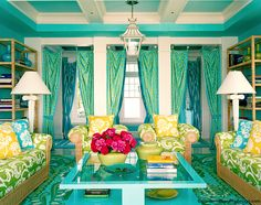 Tropical Home Design Ideas living room designs Interior Design Home Design Ideas by tile idea. Room Colors, House Colors, Living Room Designs, Living Room Decor, Living Rooms, Living Area, Living Room New York, Turquoise Room, Yellow Turquoise