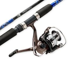South Bend Proton Spinning Combo, Silver