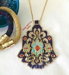 Peyote Patterns, Beading Patterns, Seed Bead Jewelry, Beaded Jewelry, Beaded Earrings, Beaded Bracelets, Bijoux Diy, Loom Beading, Bead Art