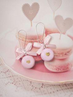 French Macaron Earrings