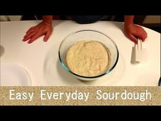 (27) Easy Everyday Sourdough Bread: full method and parchment paper baking trick - YouTube