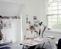 Margaret Howell + Anglepoise Type75 desk lamp
