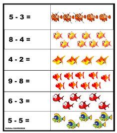 Math For Kids, Crafts For Kids, List Of Activities, Kindergarten Math Worksheets, Simple Math, Teaching Aids, Algebra, Math Centers, Phonics