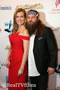 Korie Robertson, Willie Robertson, Backstage Movieguide Awards Gifting Suite