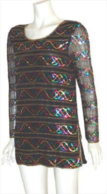 Vintage 80s Silk Top