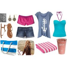"""""""Day in Galveston"""" by nachognat on Polyvore"""