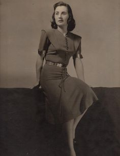 June Wayne (1918-2011) in 1939. American Artist, Founder of the Tamarind Lithography Workshop