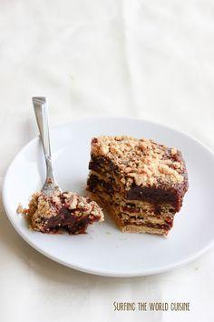 Surfing the world cuisine: Nutella pudding icebox cake / Sausainių pyragas su…