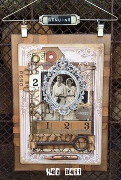 The Little Shabby Shed: Vintage panel