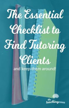 Find Tutoring Clients and Tutor English today! Teach English and struggle to find tutoring clients? This Essential Checklist of 10 steps will get you started in the right direction! Teaching Grammar, Teaching English, Teaching Resources, English Today, English Online, Tutoring Business, Education Degree, Education College, Business Education