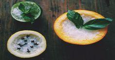 DIY home fragrance - fruit-rind air fresheners