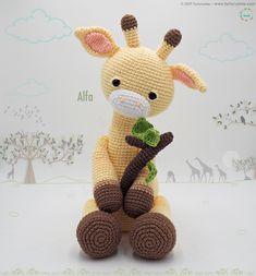 Click the image to view more about Amigurumi Crochet Patterns Giraffe! Crochet Giraffe Pattern, Crochet Animal Patterns, Crochet Patterns Amigurumi, Amigurumi Doll, Crochet Dolls, Amigurumi Minta, Crochet Crafts, Crochet Projects, Free Crochet