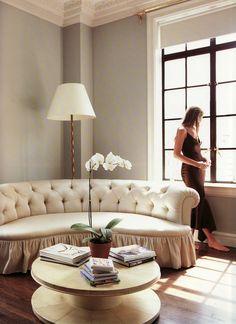 Aerin Lauder 's Manhatten  living room