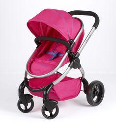 Baby Twin Jogger Born Double Buggy Pushchair Girls Push