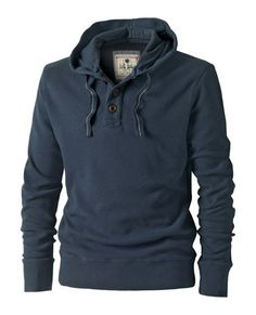 Dark Blue Hoodie from FatFace.com I realize it's a men's but I LOVE it! So Maybe an XS or S?