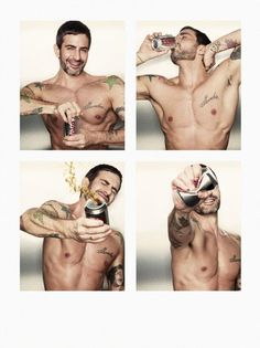 Marc Jacobs got shirtless for his campaign with Diet Coke. Click in to see the ad campaign and watch the commercial.
