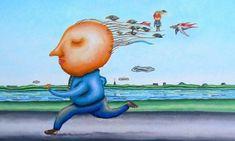 Πώς οι σκέψεις μας αλλάζουν τον εγκέφαλο, τα κύτταρα και τα γονίδιά μας - Αφύπνιση Συνείδησης Smurfs, Kai, Painting, Fictional Characters, Health, Health Care, Painting Art, Paintings, Fantasy Characters