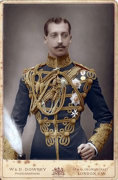 Prince Albert of Wales, Duke of Clarence and Avondale (Queen Victoria's grandson & at the time 2nd in line to the British throne)