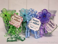 Gift Tag FREEBIES for Parent Helpers and Teacher Friends~ All from Dollar Tree!