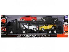 Cegonheira Diamond Truck - Roma jensen com as melhores condições você encontra no Magazine Gatapreta. Confira!
