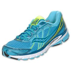 9c4e51113 Turquoise to the max + flexible cushion -- Saucony Progrid Ride 5 Women s Running  Shoes