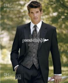 tuxedos weddings styles | Hot Recommend Men's Wedding Dress Prom Clothing Groom Tuxedos(clothes ...