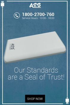 Our Standards are a Seal of Trust!  ‪#‎PowerBank‬ ‪#‎ARBPowerBank‬ ‪#‎OnlinePowerBank‬  Buy @ http://www.arbpowerbank.com/